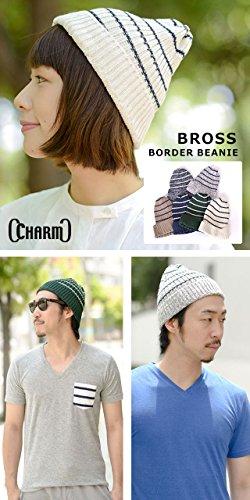 Japonés Beanie Sombrero Casualbox marfil Tramo Patrón Estructura Hombres Borde Gorros Diseño qg8BIw