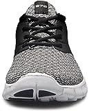 TF-L570-BLK_295 Men 11.5 D(M) Tesla Mens Knit Pattern Sports Running Shoes L570