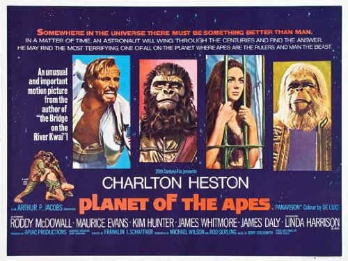 Planet of the Apes POSTER Movie (30 x 40 Inches - 77cm x 102cm) (1968) (UK Style A)