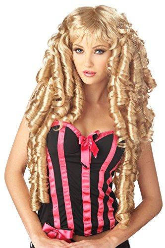 Costume-Wig Storybook Deluxe Wig Blonde Halloween Costume - 1 - Wig Storybook Blonde