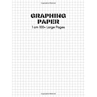 Graphing Paper: 1 Centimeter Graph Paper Notebook 8.5 x 11 inch 100+ Pages Graphed Ruled Paper