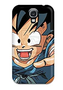 Quality Case Cover With Kid Goku Nice Appearance Compatible With Galaxy S4