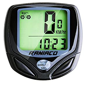 Raniaco Bike Computer, Original Wireless Bicycle Speedometer, Bike Odometer Cycling Multi Function