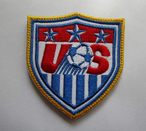 New USA United States World Cup Football Soccer Club Team Military Patch Fabric Embroidered Badges Patch Tactical Stickers for Clothes with Hook & Loop