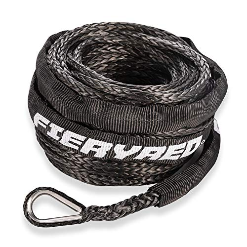"Synthetic Winch Rope 3/16"" x 50'"