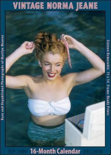 Norma Jeane (Marilyn Monroe) 2010 Vintage Wall Calendar
