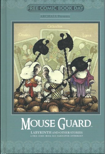 Mouse Guard Labyrinth and Other Stories - Fcbd 2014 - Archaia Hardcover Comic Book -