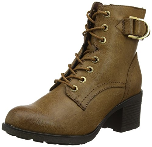 Dorothy Perkins Women's Monika Lace Ankle Boots Brown (Tan) mY5HAK