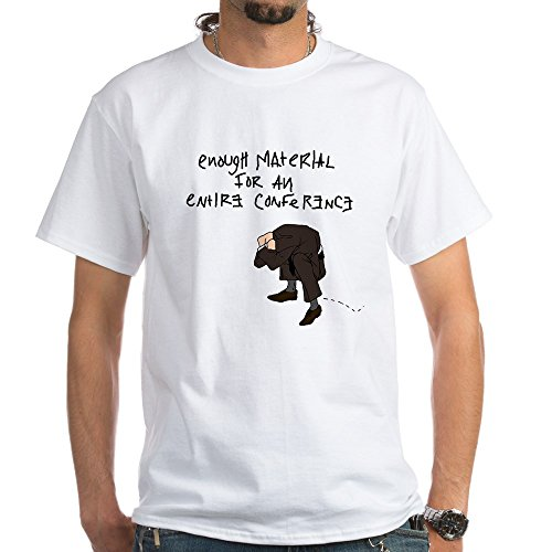 CafePress Psychiatry Conference White T-Shirt - 100% Cotton T-Shirt, (Conference White T-shirt)