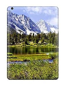 New Tpu Hard Case Premium Ipad Air Skin Case Cover(landscape)
