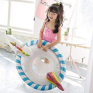Ginkago New Piscina de niños Flotador Anillo de natación Entrenador Flotador de Agua Asiento Piscina Inflable Balsa Bebé (Unicornio): Amazon.es: Juguetes y ...