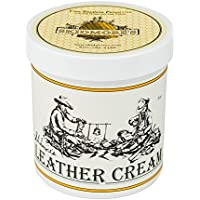 SkidmoreÕs Original Leather Cream | 100% Natural Non Toxic Water Repellent Formula is a Cleaner and Conditioner | Repair a Saddle, Riding Boots, Jacket, Gloves, Chaps, Tack, Belt,Faux Leather | 16oz