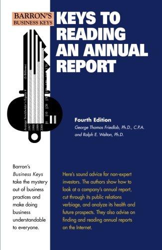 Keys to Reading an Annual Report (Barron's Business Keys)