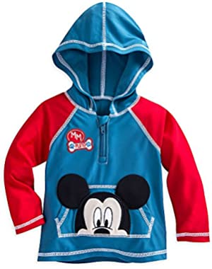 Disney Mickey Mouse Hooded Rash Guard