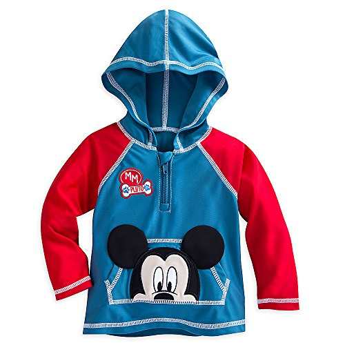 Disney Mickey Mouse Hooded Rash Guard Size 18-24 MO