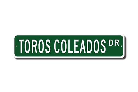 C-US-lmf379581 Toros Coleados Toros Coleados Sign Toros ...
