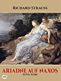 Front cover for the book Ariadne auf Naxos by Richard Strauss