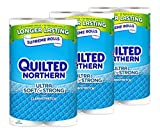 Health & Personal Care : Quilted Northern Ultra Soft & Strong, 24 Supreme (90+ Regular) Rolls TOILET PAPER by Quilted Northern