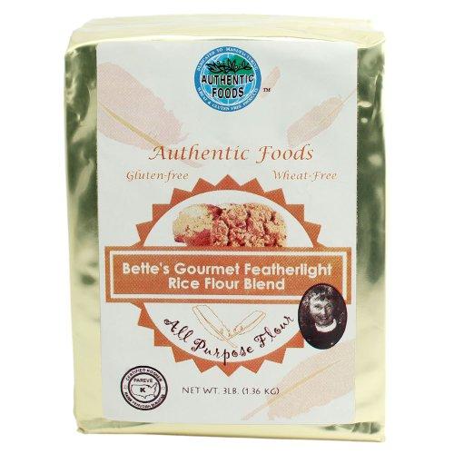 Authentic Foods Bette#039s Featherlight Rice Flour Blend  3lb