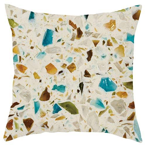 - Weiliru Children Home Decorative Super Soft Plush Mongolian Bohemia Throw Pillow Cover Cushion Case Gourmet Theme