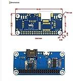 Ethernet/USB HUB HAT Expansion Board for