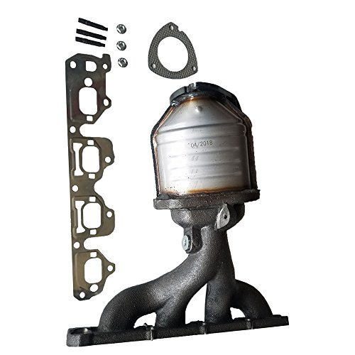 Catalytic Converter Exhaust Manifold for 2006 2007 2008 Chevrolet Malibu LT LS Classic LS 2.2L l4