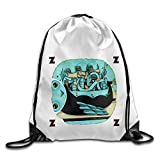 Zhanzy My Morning Jacket Z Large Drawstring Sport Backpack Sack Bag Sackpack
