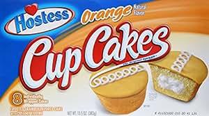 Hostess Orange Flavor Cup Cakes, 13.5 oz
