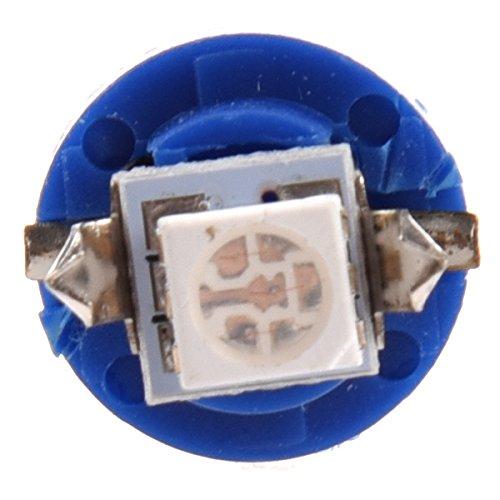 Amazon.com: TOOGOO(R)5X T5 B8.5D 5050 SMD Car LED Indicator Light Gauge Speedo Dashboard Side Interior Lamp Bulb (Blue): Automotive
