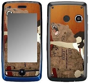 MusicSkins, MS-SHRP40088, Sharp Shirter - Haymaker, LG Rumor Touch (LN510/VM510), Skin