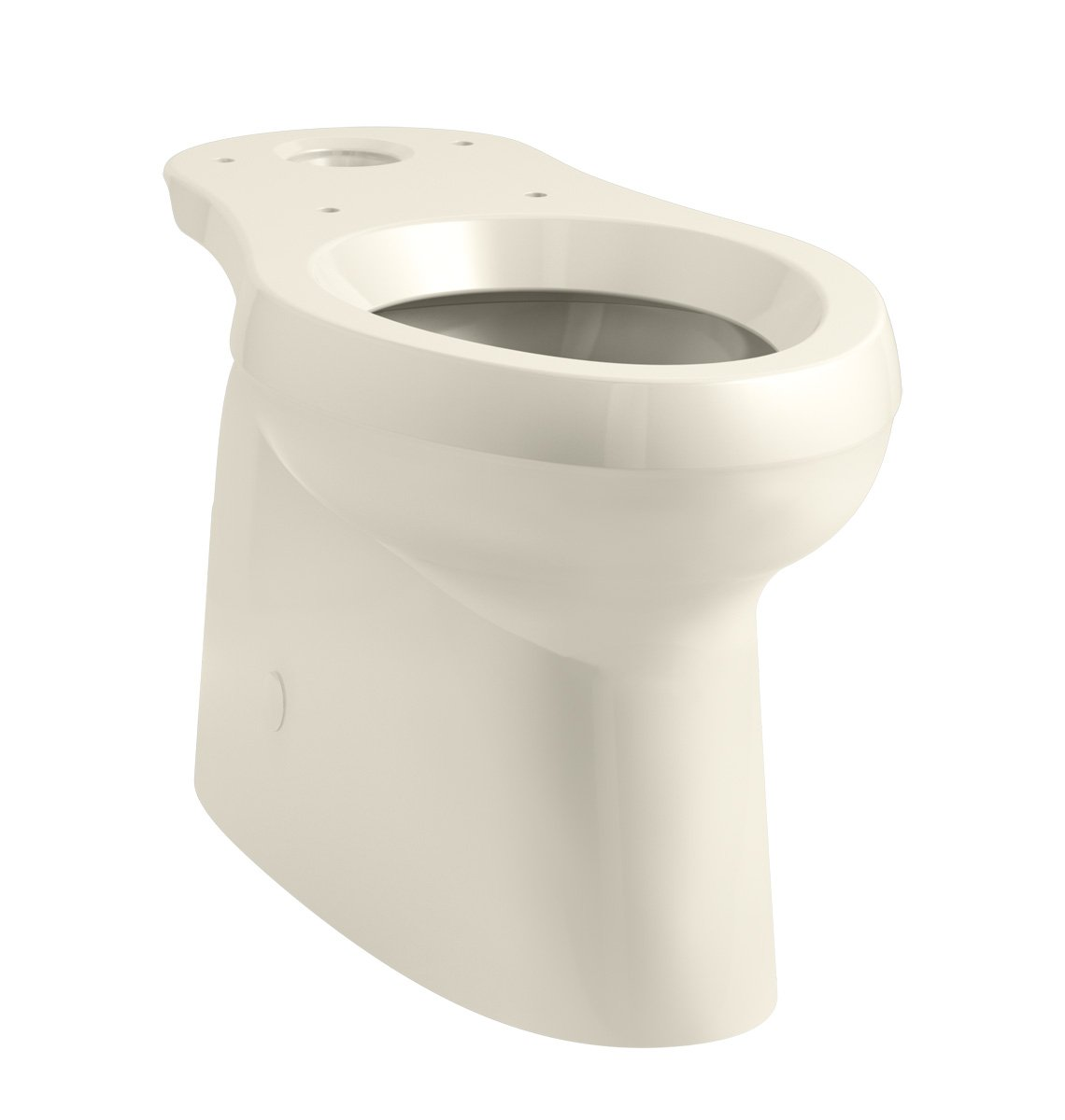 KOHLER 5309-47 Cimarron Comfort Height elongated toilet bowl with skirted trapway Almond