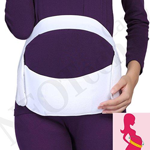 Maternity Pregnancy Support Belt/Brace - Back, Abdomen, Belly Band - NEOtech Care brand - Black - Size M by NeoTech Care (Image #4)