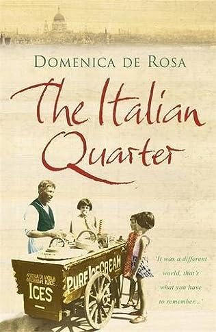 book cover of The Italian Quarter