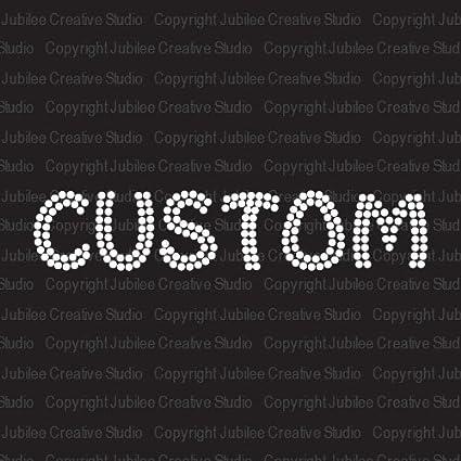 Tshirt Transfer,Custom Iron on Vinyl Iron on Name,Word Matt Vinyl