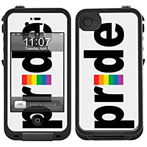 Skin Decal for LifeProof iPhone 4 Case - Pride Design