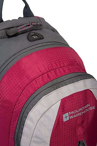 Mountain Warehouse Merlin 12-Liter-Rucksack Rosa