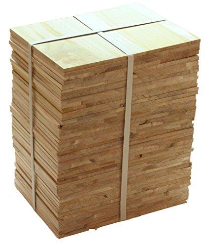 (Tiger Claw Wood Breaking Board - Breakable Board in 8 mm Thickness (1/2 Case - 45 Board Pack) )