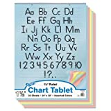 PAC74733 - Pacon Colored Chart Tablet