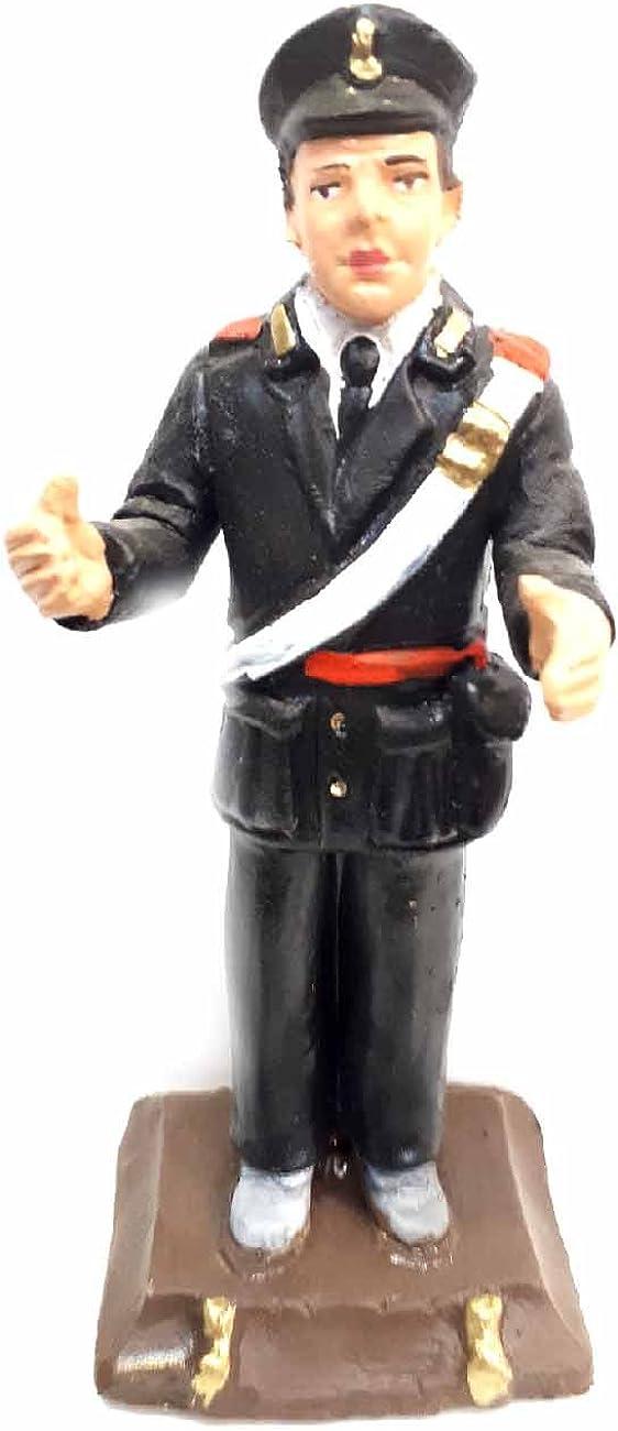 ARMENO ricevi Un Portachiavi Omaggio sheperds Crib Statuetta carabiniere 12 cm Circa Terracotta da Maestri Artigiani San Gregorio armeno Tor PRESEPE San G