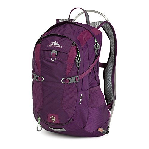 High Sierra Vimba 18L Hydration Pack, Eggplant/Berry Blast/Lime