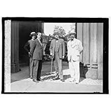 16 x 20 Gallery Wrapped Frame Art Canvas Print of LtR: Dr. Eskel, Secty. Argentina. Jorge Cor, Dr. Thos. A. Le Breton, Amb. Argentina, Dr. Frederico Alfonso former, 1915 National Photo Co 62a