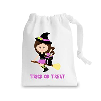 Witch Two Trick or Treat - Saco de dormir para Halloween, Unisex, blanco, Medium: Amazon.es: Deportes y aire libre