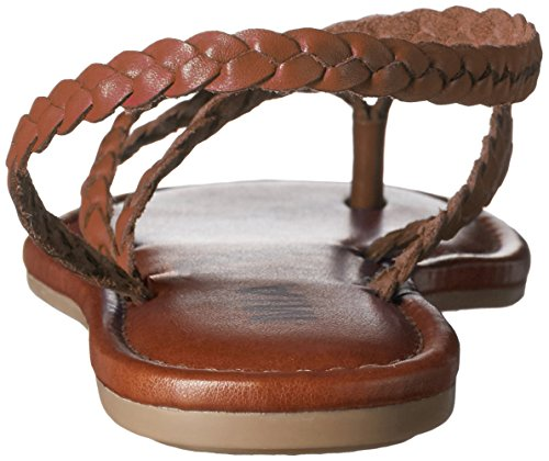 Kvinners Sandal Flette Flat Cognac Mia dx1gOzwZO