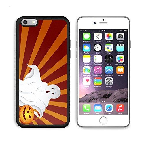 Liili Premium Apple iPhone 6 Plus iPhone 6S Plus Aluminum Backplate Bumper Snap Case iPhone6 Plus IMAGE ID: 16104681 Halloween Ghost Vector200 (Clipart Halloween Ghost)