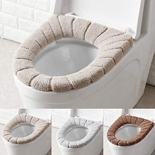 WC-Sitze, WC-Sitz, weich und warm, waschbar, 3 Stück