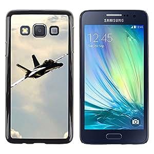 Exotic-Star ( Navy F Hornet ) Fundas Cover Cubre Hard Case Cover para Samsung Galaxy A3 / SM-A300