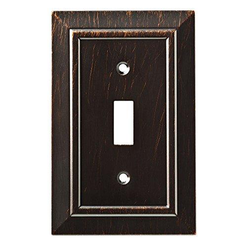 Franklin Brass W35217-VBR-C Classic Architecture Single Switch Wall Plate/Switch Plate/Cover, Venetian Bronze