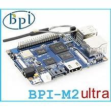 Ultra Quad-Core 2GB DDR 8GB EMMC SATA Bluetooth WIFI Antenna mini pc board raspberry pi BPI-M2U Banana pi M2