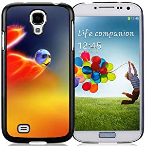 Beautiful Custom Designed Cover Case For Samsung Galaxy S4 I9500 i337 M919 i545 r970 l720 With Colorful Water Drop Phone Case Cover