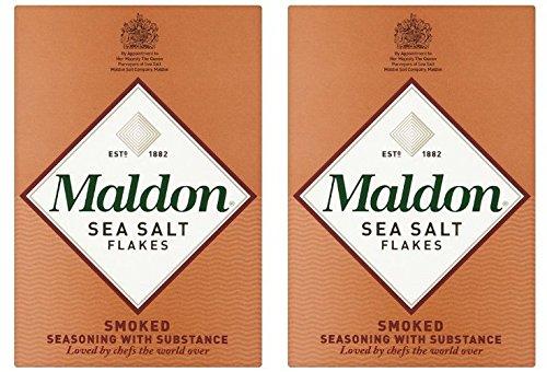 (2 Pack) - Maldon Salt - Smoked Sea Salt | 125g | 2 PACK BUNDLE ()